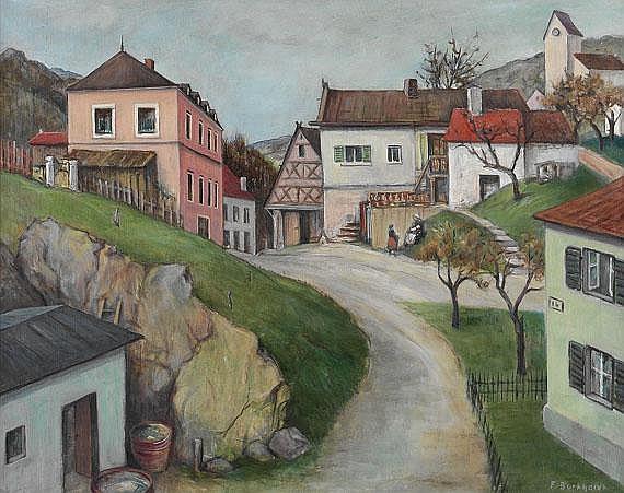 Fritz Burkhardt (1900 Arnstein/Mainfranken - 1983