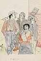 Bruno Voigt (1912 Gotha - 1988 Berlin). Zigeuner., Bruno Voigt, Click for value