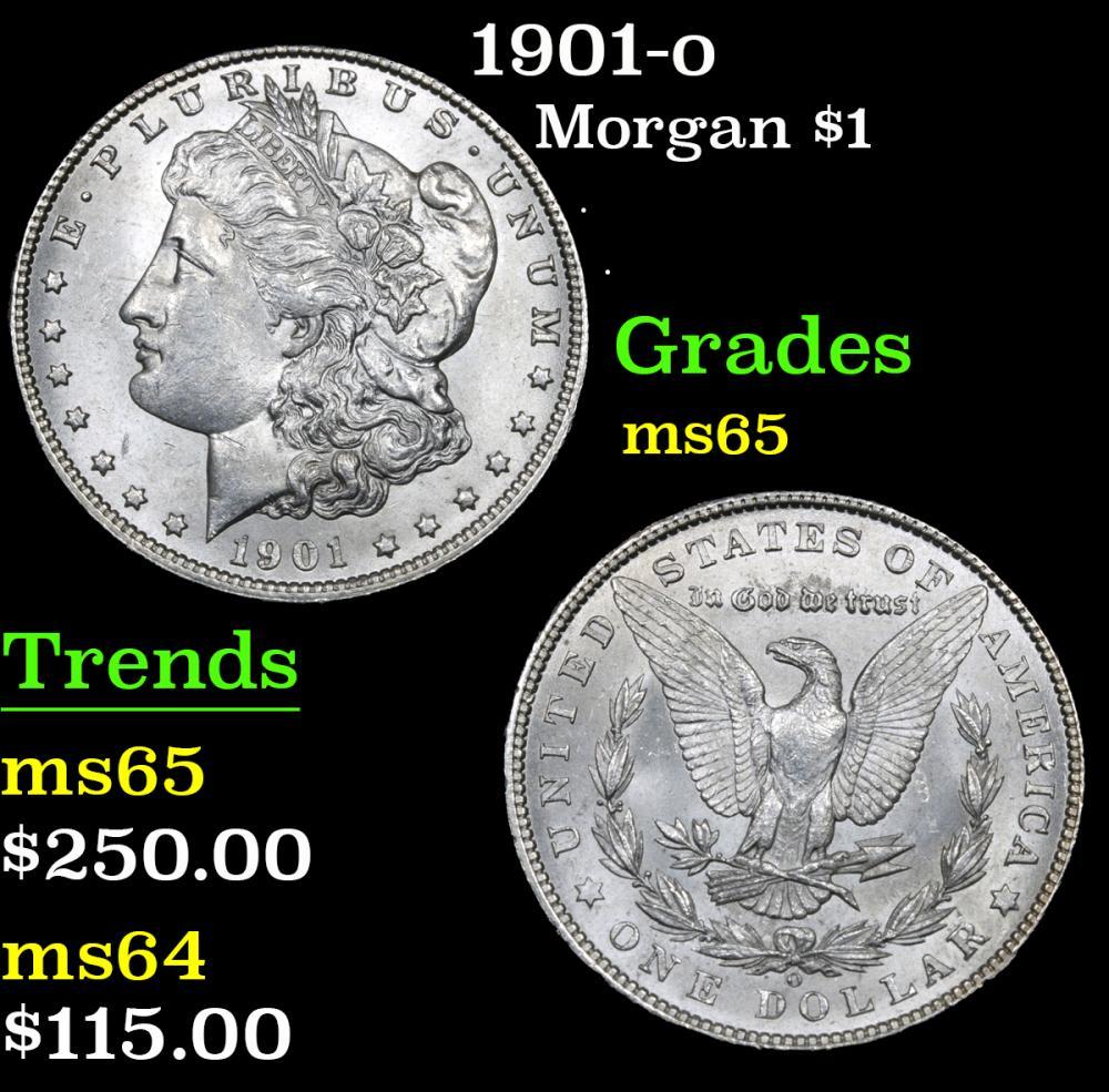 1901-o . . Morgan Dollar $1 Grades GEM Unc