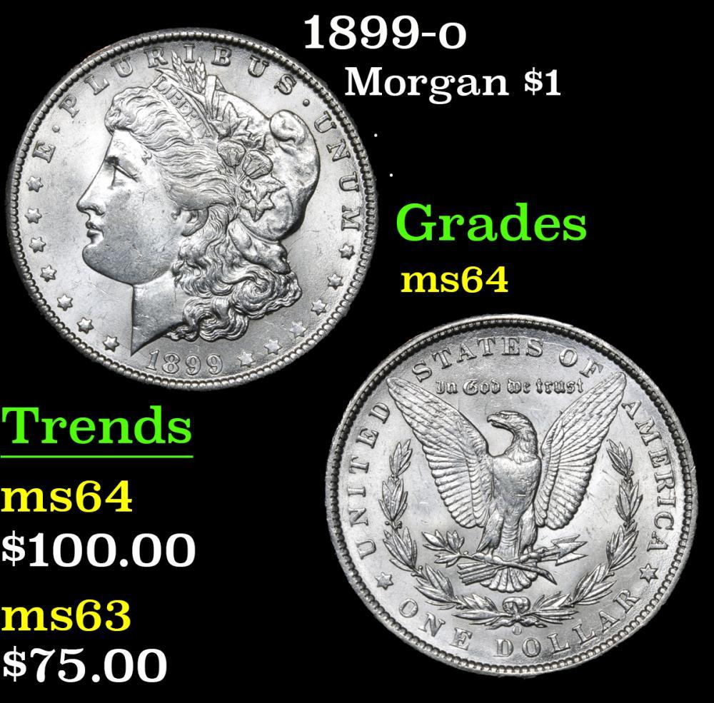 1899-o . . Morgan Dollar $1 Grades Choice Unc