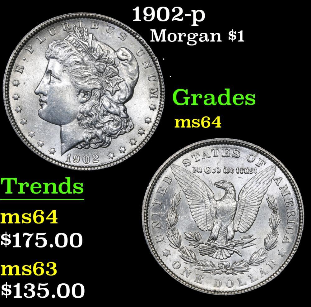 1902-p . . Morgan Dollar $1 Grades Choice Unc
