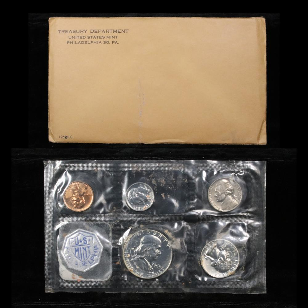 1963 P US PROOF set In Original packaging from US mint Proof