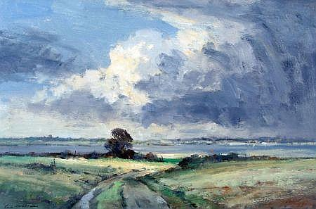 IAN HOUSTON (Born 1934) Signed Oil on Canvas