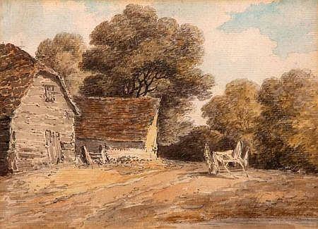 DR THOMAS MUNRO (1759-1833, BRITISH) Pencil and