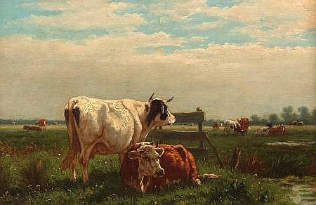 WILLIAM FREDERICK HULK (1852-1906, BRITISH) Signed
