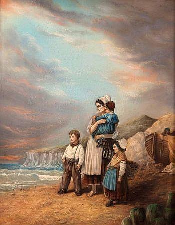 EDITH AUGUSTA JAMES (1857-1898, BRITISH) Signed