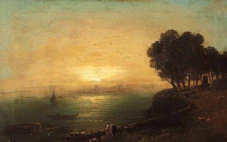 MEKERTICH GIVANIAN (1848-1906, RUSSIAN) Signed Oil
