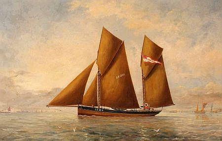 GEORGE VEMPLEY BURWOOD (19TH CENTURY, BRITISH)