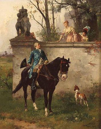 HELENE BUTTNER (1861-1947, HUNGARIAN) Signed and