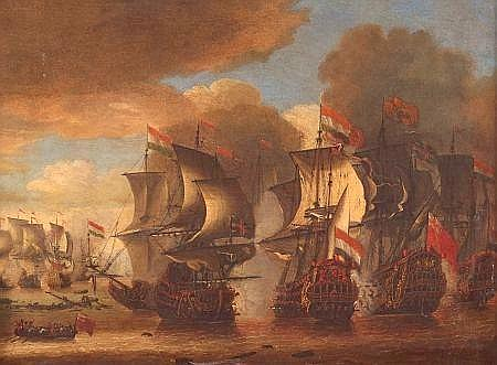 ATTRIBUTED TO ISAAC SAILMAKER (1633-1721, BRITISH)