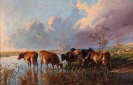THOMAS GEORGE COOPER (1836-1901, BRITISH) Signed