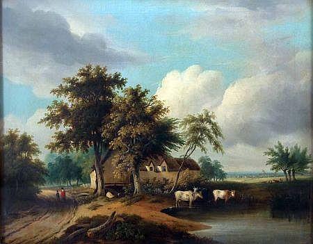 SAMUEL DAVID COLKETT (1806-1863, BRITISH) Oil on