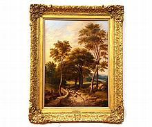 OBADIAH SHORT (1803-1886, BRITISH) Shepherd and