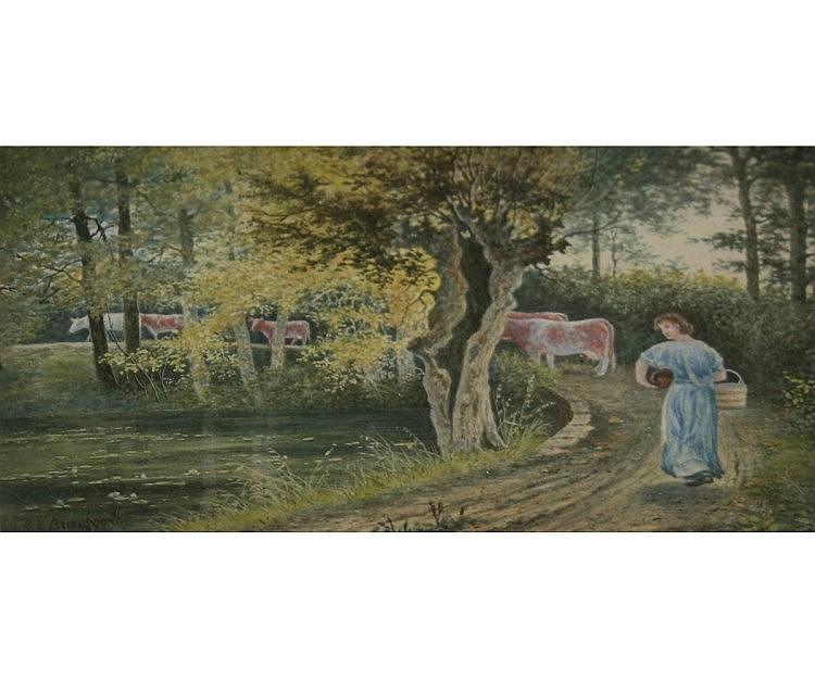 GEORGE VEMPLEY BURWOOD (1844-1917, BRITISH)  Mil