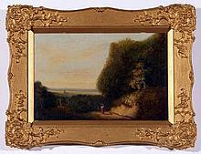 OBADIAH SHORT (1803-1886, BRITISH) Distant View of