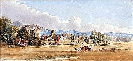 OBADIAH SHORT (1803-1886, BRITISH) Watercolour