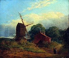ANTHONY SANDYS (1806-1883, BRITISH) Oil on Board