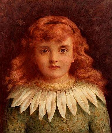 REGINALD BARBER (1851-1928, BRITISH) Monogrammed