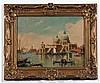 ALBERTON TERRINI, SIGNED, OIL ON CANVAS, Venice,, Alberto Terrini, Click for value