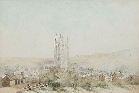 ATTRIBUTED TO REVEREND JOHN SWEET, WATERCOLOUR,