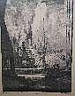 Leslie Moffat Ward, Old Harry Rocks, etching, 30.5