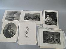 Qty of good quality Victorian engravings after JMW