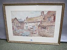 ADA MARY Galton C19th/20th watercolour 'Old