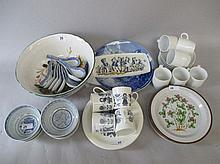 Qty of European & other ceramics