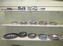 Booths Staffordshire Real Old Willow blue & white