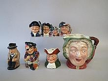 Beswick Royal Doulton & others group of eight