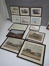 Quantity of decorative pictures & prints mainly