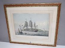 T. Dutton after Lt A.G. Western HMS Queen (110