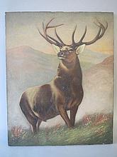 After Sir Edwin Landseer RA, deer study from