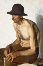 Man with Hat, 1919