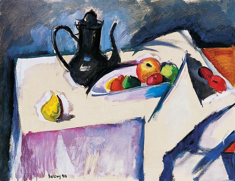 Berény Róbert 1887-1953 Still Life with Jug and
