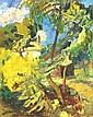 Berény Róbert 1887-1953 Park 92×74 cm oil on, Robert Bereny, Click for value