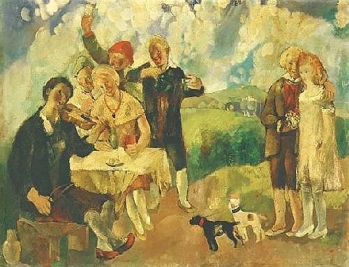 Vadász Endre 1901-1904 Sound of Violin, 1925