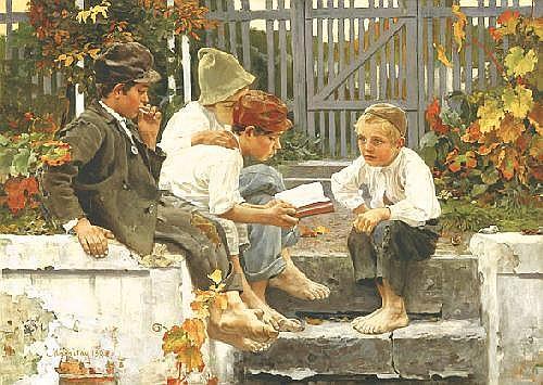 Margitay Tihamér 1859-1922 Exciting Story, 1898