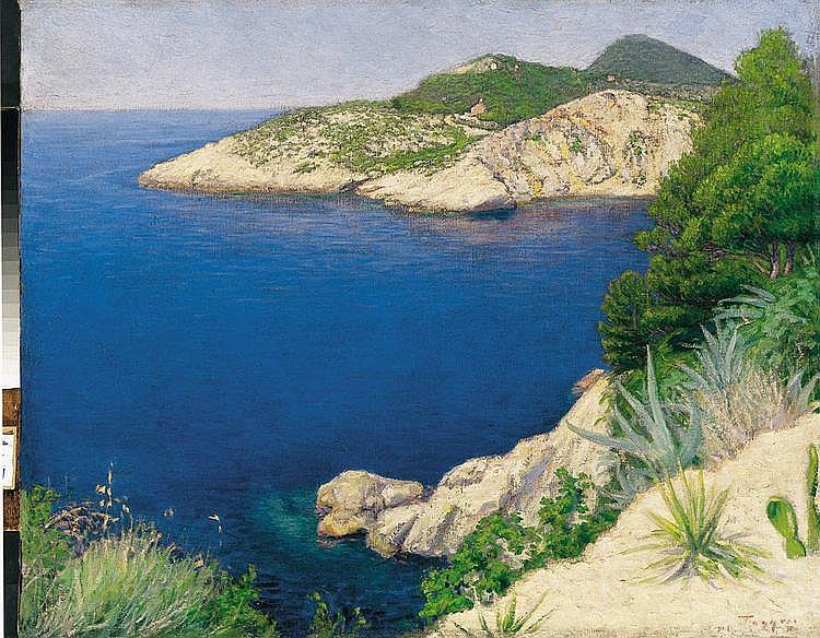 Ratz, Peter (1879 - 1945) Mediterranean Seaside