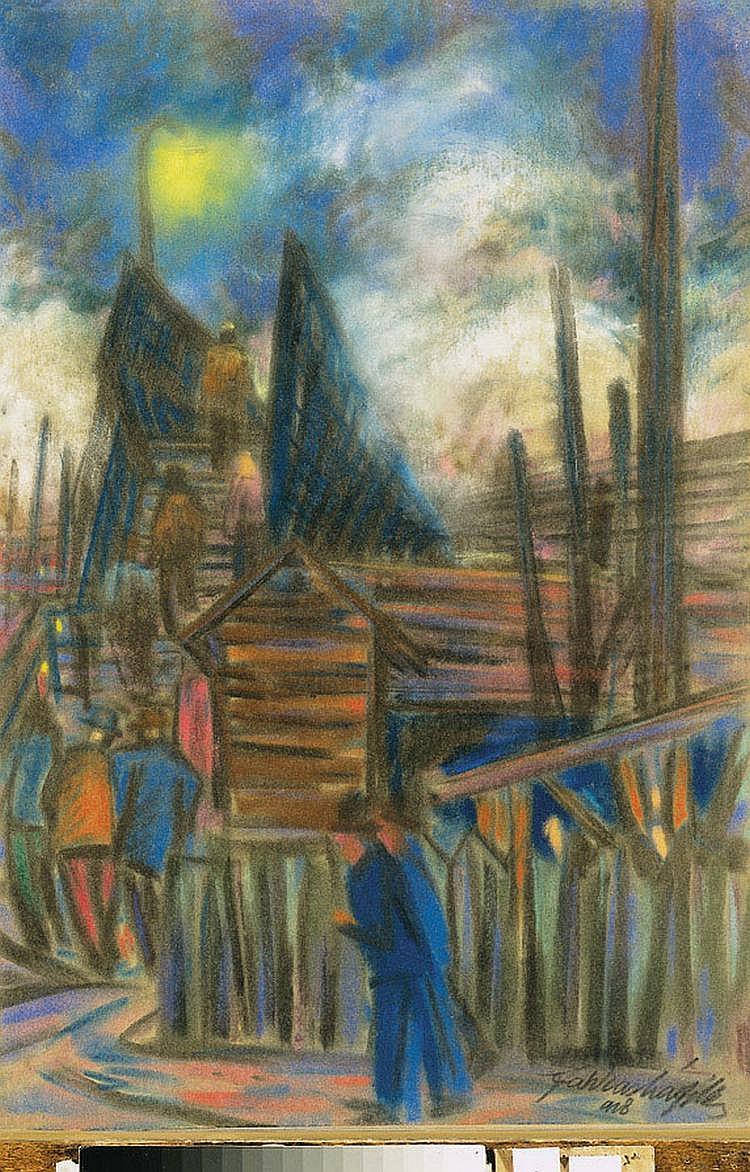 Farkashazy, Miklos (1895 - 1964) Moonlit