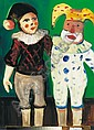 Schener, Mihaly (1923 - ) Clowns Starting price:, Mihály Schéner, Click for value