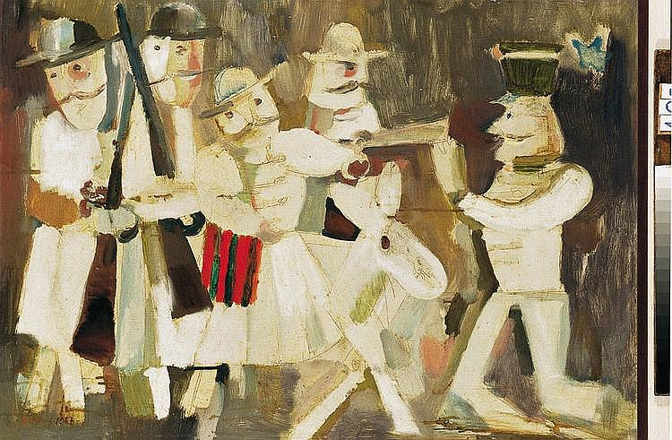 Schener, Mihaly (1923 - ) Gendarmes in the Hands