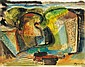 Bene, Geza (1900 - 1960) Landscape, 1947 Starting, Géza Bene, Click for value