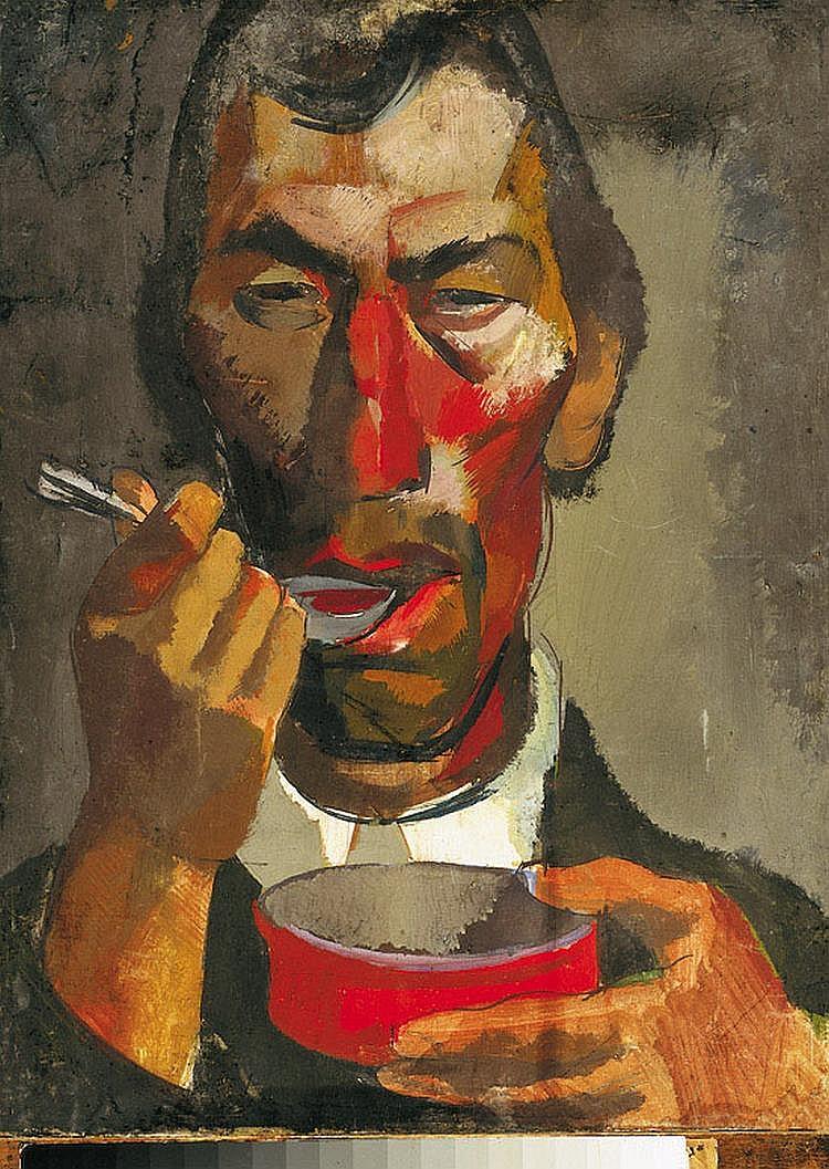 Aba-Novak, Vilmos (1894 - 1941) Having Lunch,