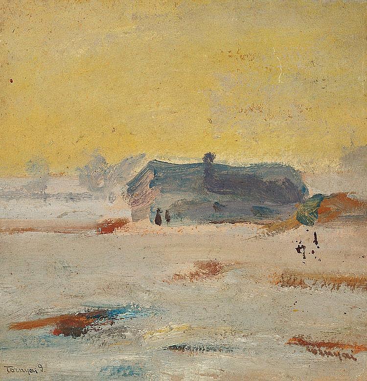 Tornyai, Janos (1869 - 1936) Winter Starting