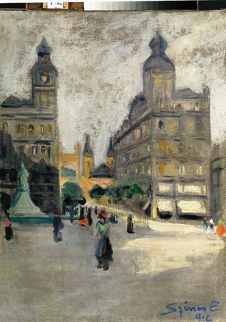 Színes, Elemer (1886 - ?) Klotild Palaces, 1912