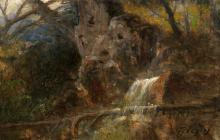 Forest Detail with Fountain