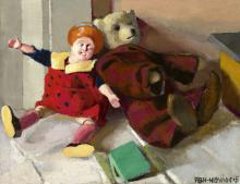 Still Life with Toys, 1915