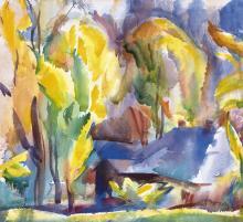 Autumn Landscape in Zugliget, c. 1923