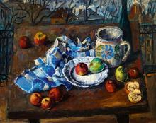 Still-Life with Autumn Landscape in the Background, 1942